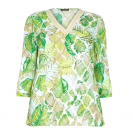 BASLER floral print Tunic - Plus Size Collection