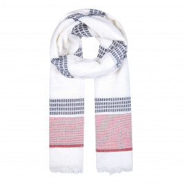 BEIGE LABEL PURE COTTON SCARF  - Plus Size Collection