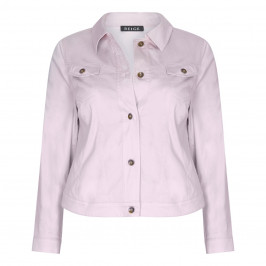 Beige JACKET BLUSH PINK - Plus Size Collection