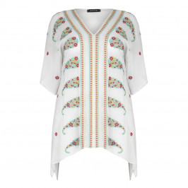 BEIGE LABEL EMBROIDERED GEORGETTE KAFTAN  - Plus Size Collection