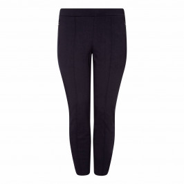 BEIGE LABEL NAVY JERSEY LEGGING - Plus Size Collection