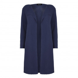 BEIGE label LONG midnight blue CARDIGAN - Plus Size Collection