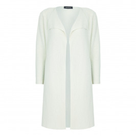 BEIGE label stone LONG CARDIGAN - Plus Size Collection