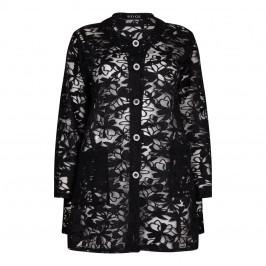 BEIGE label floral lace COAT - Plus Size Collection