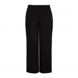 BEIGE label black CULOTTES - Plus Size Collection