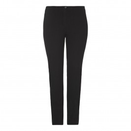BEIGE NARROW LEG STRETCH JEANS - BLACK - Plus Size Collection