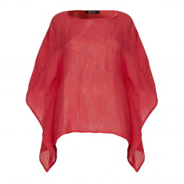 BEIGE red linen cheesecloth KAFTAN - Plus Size Collection