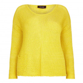 Beige label lemon Knitted Tunic - Plus Size Collection