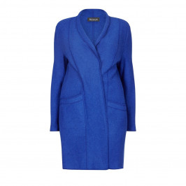 BEIGE LABEL COBALT BLUE JACKET - Plus Size Collection