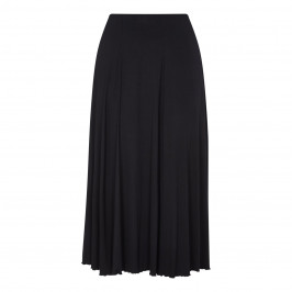 BEIGE LABEL BLACK A LINE JERSEY SKIRT - Plus Size Collection