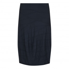 BEIGE label charcoal textured jersey SKIRT - Plus Size Collection