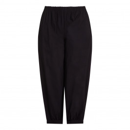 BEIGE label black harem TROUSERS with pockets - Plus Size Collection