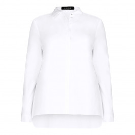 BEIGE label white classic SHIRT - Plus Size Collection