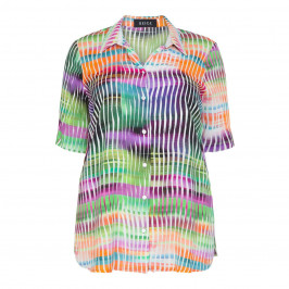 BEIGE LABEL MULTI-COLOURED SHIRT - Plus Size Collection