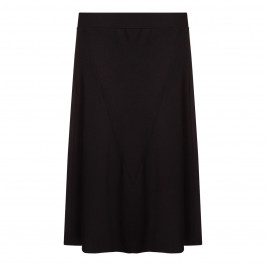 BEIGE label black a-line SKIRT - Plus Size Collection