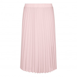 BEIGE LABEL PLEATED MIDI SKIRT - Plus Size Collection