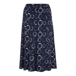 BEIGE LABEL PULL ON JERSEY PRINTED SKIRT - Plus Size Collection