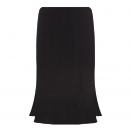 BEIGE label black cheesecloth linen SKIRT - Plus Size Collection