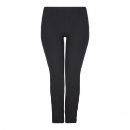 BEIGE label black NARROW LEG WARM TOUCH TROUSERS - Plus Size Collection