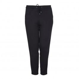 BEIGE label black narrow leg side stripe TROUSER - Plus Size Collection