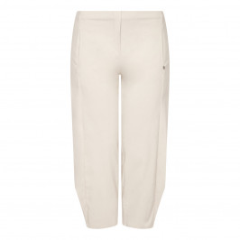 BEIGE LABEL TECHOSTRETCH TROUSERS 3D HEM - Plus Size Collection