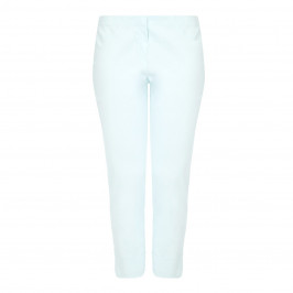BEIGE label mint cropped Trousers - Plus Size Collection