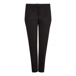 BEIGE label charcoal stretch TROUSERS - Plus Size Collection
