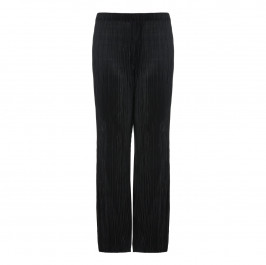 BEIGE pleated palazzo TROUSERS - Plus Size Collection