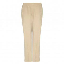 BEIGE label sand pull-on TROUSERS - Plus Size Collection