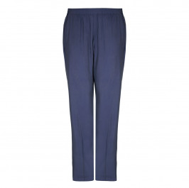 Beige Label blue pull-on TROUSERS - Plus Size Collection