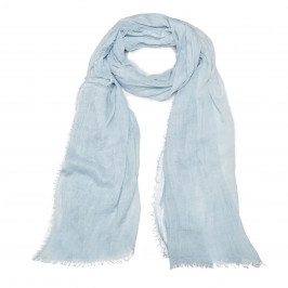 BEIGE label blue SCARF - Plus Size Collection