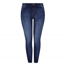 BLUE FROG skinny faded denim JEANS - Plus Size Collection