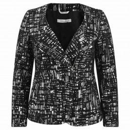 MARINA RINALDI COTTON BLEND JACKET - Plus Size Collection