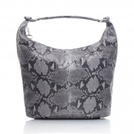 C.L Grey mock python BAG - Plus Size Collection