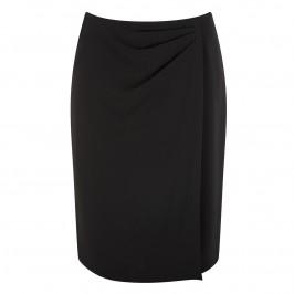 Marina Rinaldi black faux wrap pencil skirt - Plus Size Collection