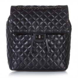 C.L TRADING BLACK QUILTED CHAIN HANDLE BAG - Plus Size Collection