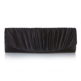 C.L. BLACK  PLEATED FRONT CLUTCH - Plus Size Collection