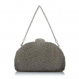 C.L. CRYSTALS STUDDED CLUTCH - Plus Size Collection
