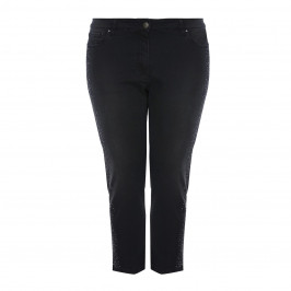 CHALOU embellished Cropped jeans - Plus Size Collection