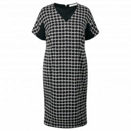 Marina Rinaldi Geometric Print Dress - Plus Size Collection