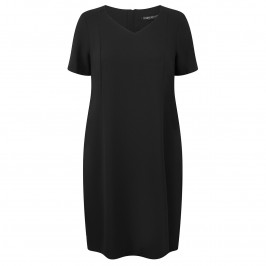Marina Rinaldi Tailored black DRESS - Plus Size Collection
