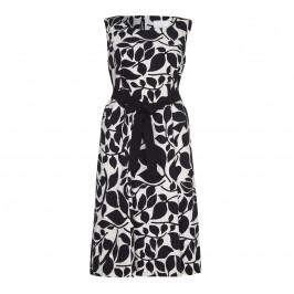 Marina Rinaldi black textured print DRESS - Plus Size Collection