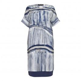 Marina Rinaldi pure silk shift DRESS - Plus Size Collection