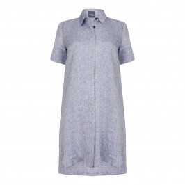 PERSONA linen twill DRESS - Plus Size Collection