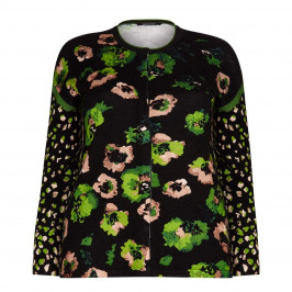 ELENA MIRO floral print CARDIGAN - Plus Size Collection