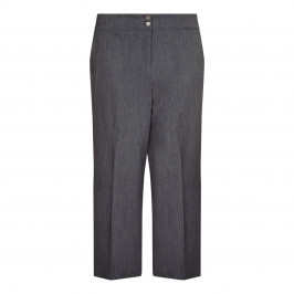 BEIGE label charcoal twill CULOTTES - Plus Size Collection