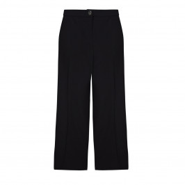 ELENA MIRO black front crease light crepe CULOTTES - Plus Size Collection