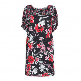 ELENA MIRO FLORAL PRINT DRESS - Plus Size Collection