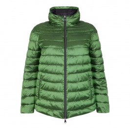 ELENA MIRO green PUFFA COAT - Plus Size Collection