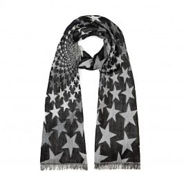 ELENA MIRO star jacquard SCARF - Plus Size Collection